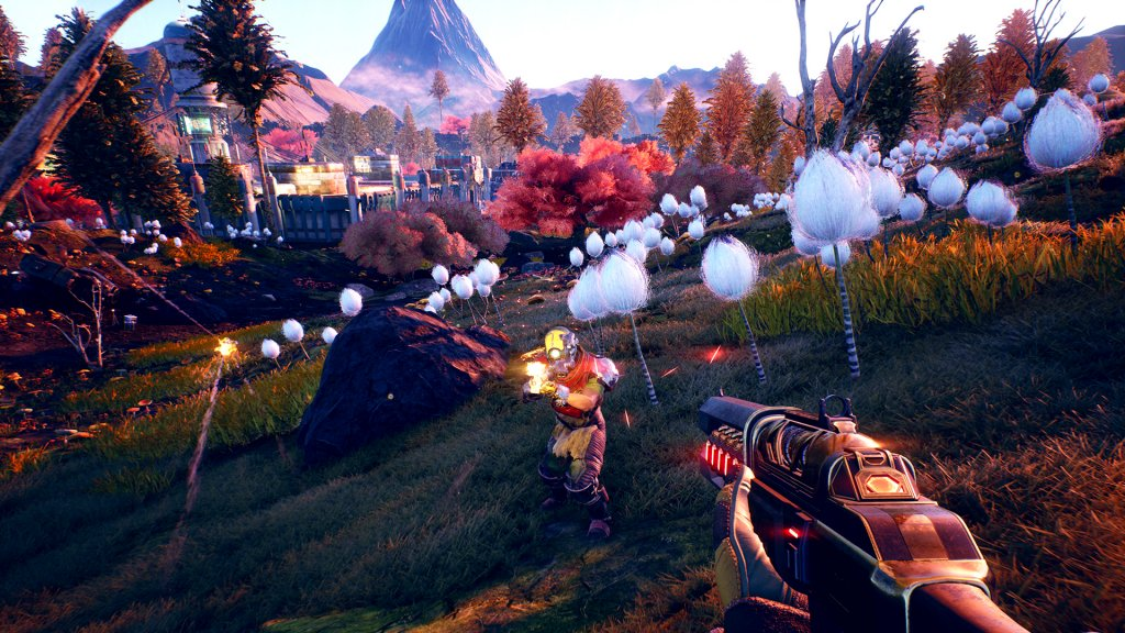 The Outer Worlds Roseway Combat Screenshot