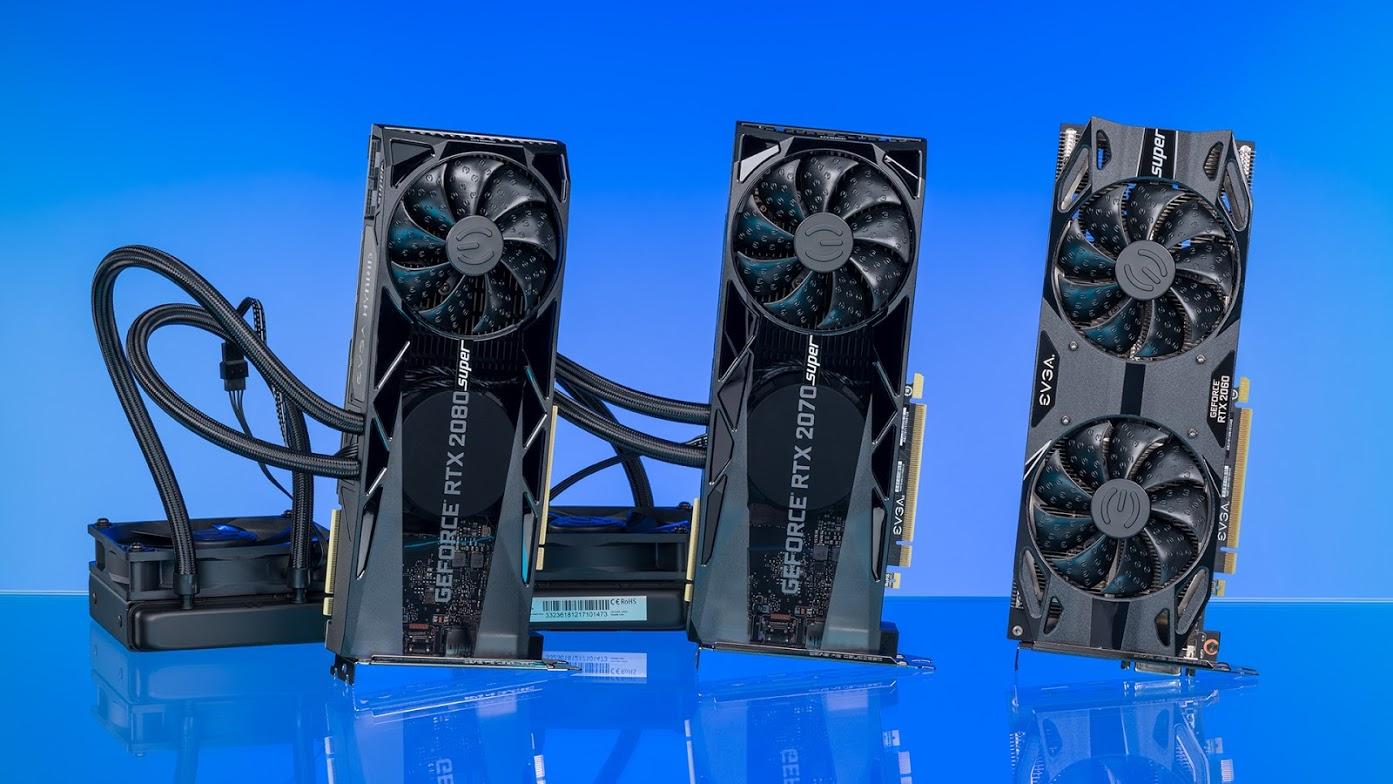 Quick Look: EVGA RTX 2060, 2070, and 2080 SUPER Nvidia GPUs