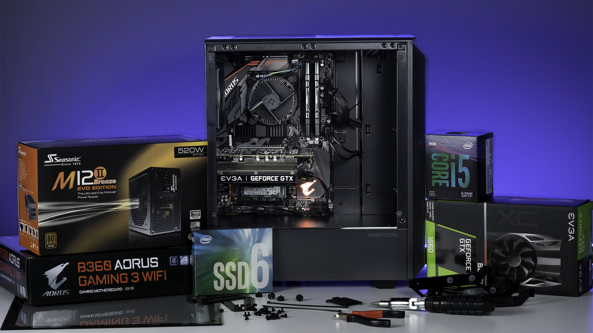 Gaming Pc Build Kit