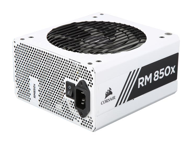 CORSAIR RMx White Series 850W Fully Modular Power Supply