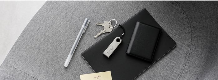 Ledger, Wallet, Keys, and Pen