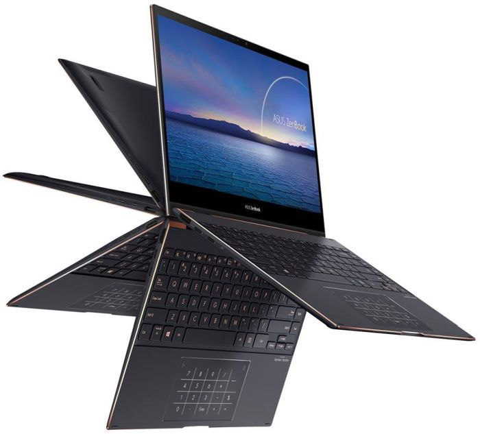 The ZenBook Flip S 360 ErgoLift hinge