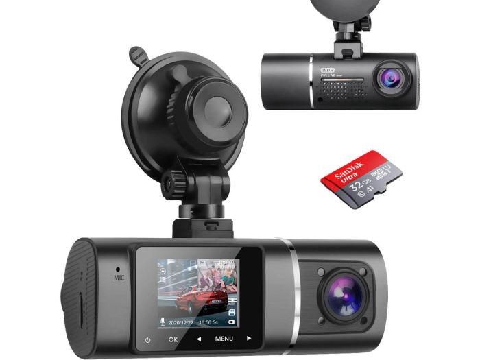 TROPRO dual channel dash cam