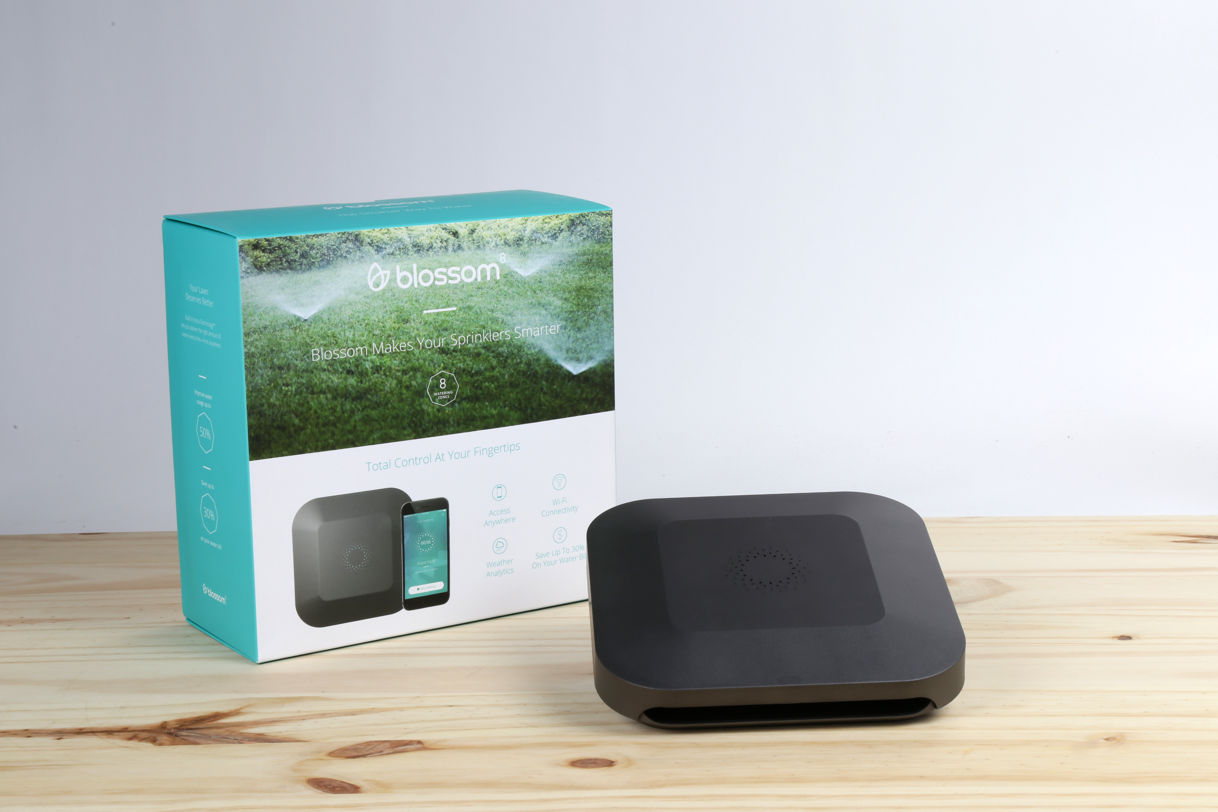 Blossom: The Smart Irrigation Controller for the Utilitarian