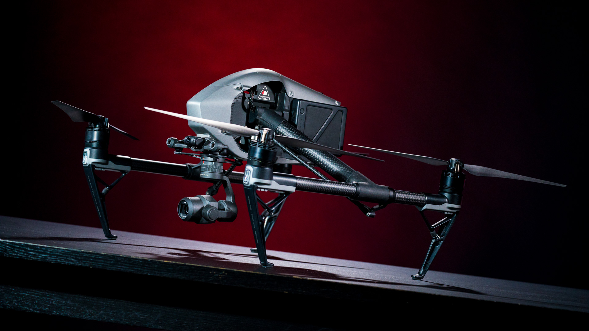 DJI's Inspire 2 is a beauty of a drone, with carbon fiber boom arms and magnesium aluminum composite fairings protecting the brains of the operation.