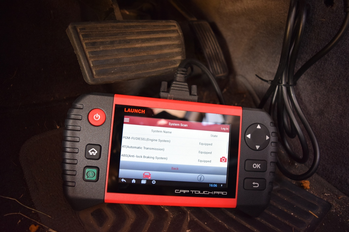 Hands On: LAUNCH CRP Touch Pro OBD-II Scanner - Newegg Insider