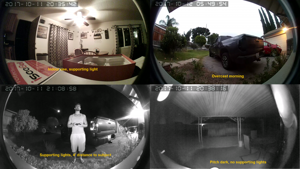 Despite only being 720p, the iseeBell camera makes this smart doorbell versatile for multiple settings.