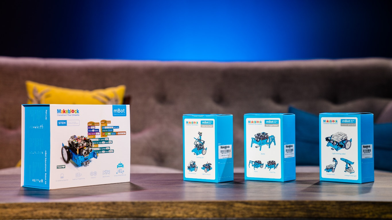 STEM Educational Robots Bring Fun to Coding for Kids