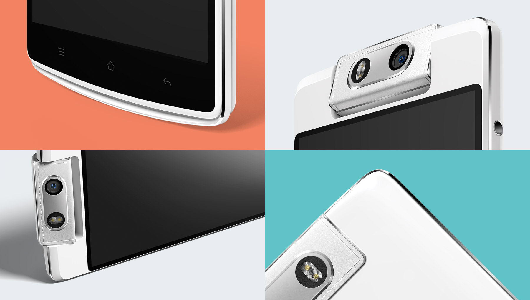 The Oppo N3 has the best front-facing camera available on a phablet.
