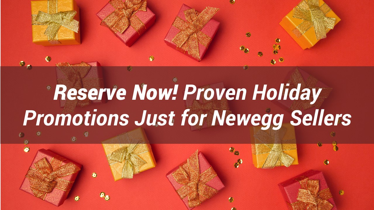 Proven Holiday Promotions for Newegg Marketplace Sellers