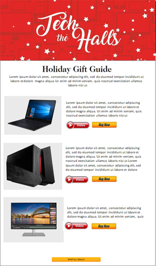 Newegg December Holiday Promotion Calendar: Tech-the-Halls - Holiday Gift Guide